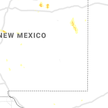 Regional Hail Map for Roswell, NM - Wednesday, August 14, 2019