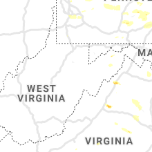 Regional Hail Map for Elkins, WV - Thursday, August 15, 2019
