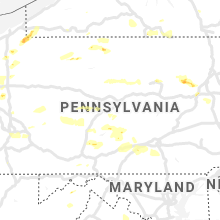 Regional Hail Map for State College, PA - Thursday, August 15, 2019