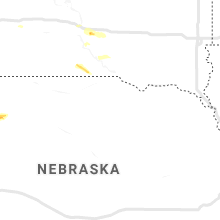Regional Hail Map for Oneill, NE - Friday, August 16, 2019