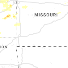 Regional Hail Map for Springfield, MO - Friday, August 16, 2019