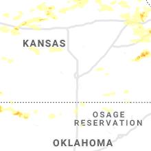 Hail Map for wichita-ks 2019-08-16