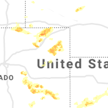 Regional Hail Map for Yuma, CO - Friday, August 16, 2019