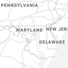 Regional Hail Map for Baltimore, MD - Saturday, August 17, 2019