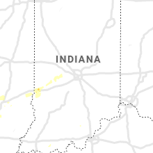 Regional Hail Map for Indianapolis, IN - Saturday, August 17, 2019