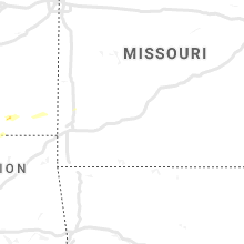 Regional Hail Map for Springfield, MO - Saturday, August 17, 2019