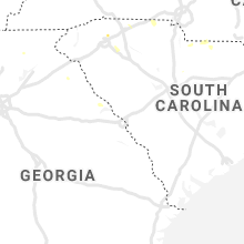 Regional Hail Map for Augusta, GA - Sunday, August 18, 2019