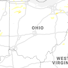 Regional Hail Map for Columbus, OH - Sunday, August 18, 2019
