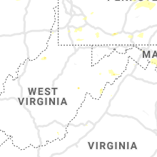 Regional Hail Map for Elkins, WV - Sunday, August 18, 2019