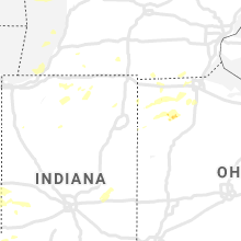Regional Hail Map for Fort Wayne, IN - Sunday, August 18, 2019