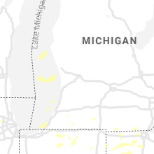 Regional Hail Map for Grand Rapids, MI - Sunday, August 18, 2019