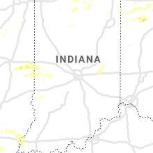 Regional Hail Map for Indianapolis, IN - Sunday, August 18, 2019