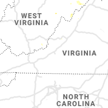 Regional Hail Map for Roanoke, VA - Sunday, August 18, 2019