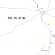 Regional Hail Map for Salem, MO - Sunday, August 18, 2019