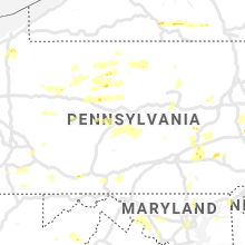 Regional Hail Map for State College, PA - Sunday, August 18, 2019