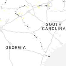 Regional Hail Map for Augusta, GA - Monday, August 19, 2019