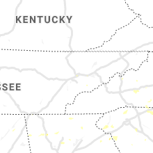 Regional Hail Map for Knoxville, TN - Monday, August 19, 2019