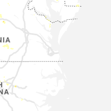 Regional Hail Map for Virginia Beach, VA - Monday, August 19, 2019