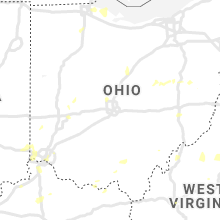 Regional Hail Map for Columbus, OH - Tuesday, August 20, 2019