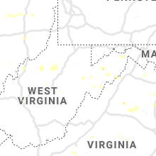 Regional Hail Map for Elkins, WV - Tuesday, August 20, 2019