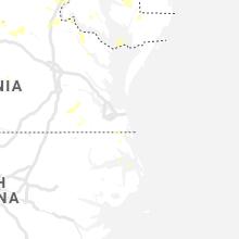 Regional Hail Map for Virginia Beach, VA - Tuesday, August 20, 2019
