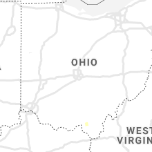 Regional Hail Map for Columbus, OH - Wednesday, August 21, 2019