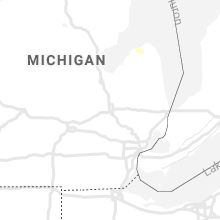 Hail Map for flint-mi 2019-08-21