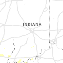 Regional Hail Map for Indianapolis, IN - Wednesday, August 21, 2019