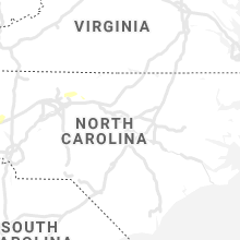 Regional Hail Map for Raleigh, NC - Wednesday, August 21, 2019