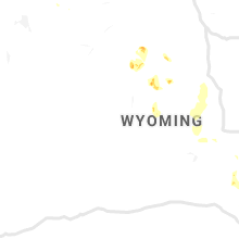 Regional Hail Map for Riverton, WY - Wednesday, August 21, 2019