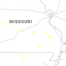 Regional Hail Map for Salem, MO - Wednesday, August 21, 2019