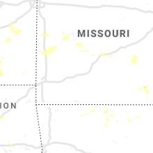 Regional Hail Map for Springfield, MO - Wednesday, August 21, 2019