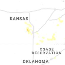 Regional Hail Map for Wichita, KS - Wednesday, August 21, 2019