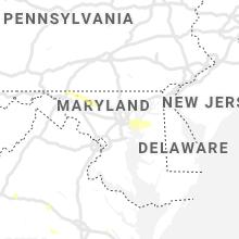 Regional Hail Map for Baltimore, MD - Thursday, August 22, 2019
