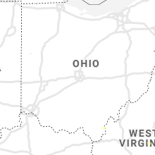 Regional Hail Map for Columbus, OH - Thursday, August 22, 2019