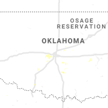 Regional Hail Map for Oklahoma City, OK - Thursday, August 22, 2019