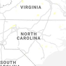 Regional Hail Map for Raleigh, NC - Thursday, August 22, 2019