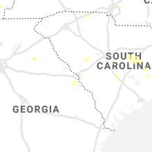 Regional Hail Map for Augusta, GA - Friday, August 23, 2019