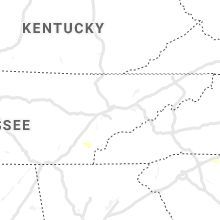 Regional Hail Map for Knoxville, TN - Friday, August 23, 2019
