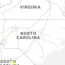 Regional Hail Map for Raleigh, NC - Friday, August 23, 2019