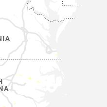 Regional Hail Map for Virginia Beach, VA - Friday, August 23, 2019
