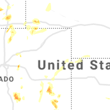 Regional Hail Map for Yuma, CO - Friday, August 23, 2019