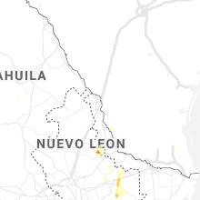 Regional Hail Map for Laredo, TX - Saturday, August 24, 2019