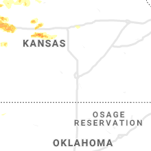 Regional Hail Map for Wichita, KS - Saturday, August 24, 2019