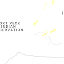 Regional Hail Map for Williston, ND - Saturday, August 24, 2019