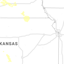 Regional Hail Map for Manhattan, KS - Sunday, August 25, 2019