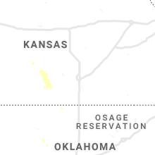 Regional Hail Map for Wichita, KS - Sunday, August 25, 2019