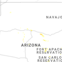 Regional Hail Map for Flagstaff, AZ - Wednesday, August 28, 2019