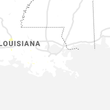 Regional Hail Map for New Orleans, LA - Wednesday, August 28, 2019