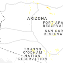 Regional Hail Map for Phoenix, AZ - Wednesday, August 28, 2019